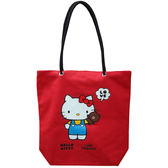 Kitty&Line肩背袋-KT(大)【愛買】
