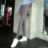 瑜伽褲女外穿夏季高腰薄款提臀假兩件跑步訓練運動長褲網紅健身褲 時尚芭莎