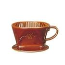金時代書香咖啡 Kalita 101系列傳統陶製三孔濾杯 典雅棕 #01003