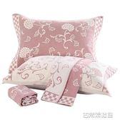 歐式高檔枕巾純棉加厚一對大號成人情侶全棉紗布四季枕頭巾 古梵希