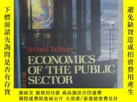 二手書博民逛書店Economics罕見of the Public Sector