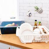 瀝水碗架帶蓋碗筷餐具收納盒 滴水碗盤置物架