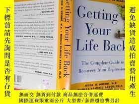 二手書博民逛書店Getting罕見Your Life BackY6515 Jes