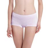LADY 超彈力親膚無痕系列 中腰平口褲(紫色)