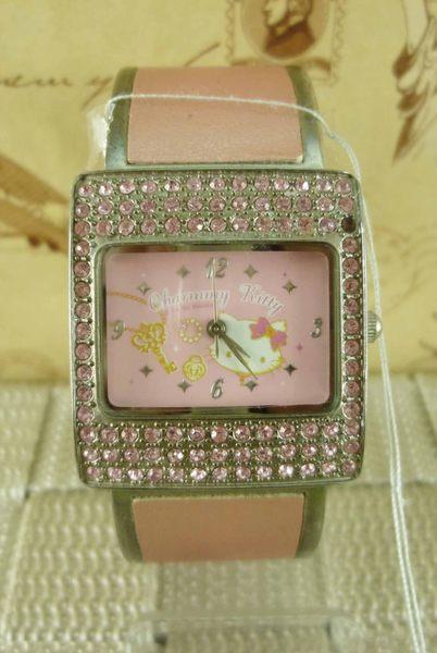 【震撼精品百貨】Hello Kitty 凱蒂貓~手錶-手環錶-粉【共1款】