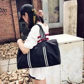 短途旅行包女手提韓版大容量行李袋輕便簡約出差旅游運動健身包男