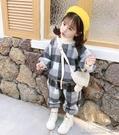 女童套裝女寶寶加絨套裝1秋冬裝新款兒童冬季女童裝3歲半0小童洋氣 快速出貨