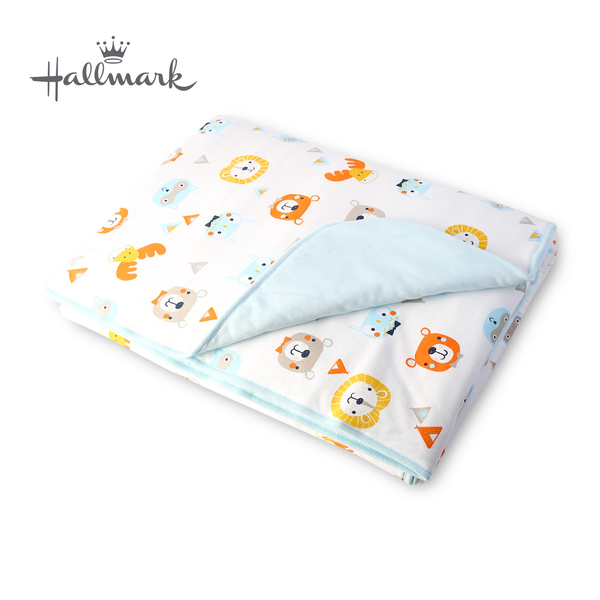 Hallmark Babies森林小動物加厚被子 HH3-N06-L3-LB-ME