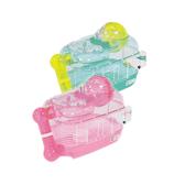 寵物家族-日本Marukan-鼠鼠迷你樂園 鼠籠 - 粉紅色/綠色