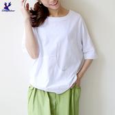 【春夏新品】American Bluedeer - 造型口袋T恤 二色 春夏新款