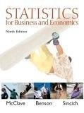 二手書博民逛書店 《Statistics for Business and Economics (9th Edition)》 R2Y ISBN:0130466417│McClave