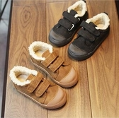 兒童棉鞋 男童女童加厚加絨休閒帆布鞋 衣普菈