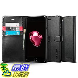 [美國直購] Spigen 043CS20543 黑色 [Wallet S] (5.5吋) iPhone 7 Plus Case 皮夾式 手機殼 保護殼_Z11