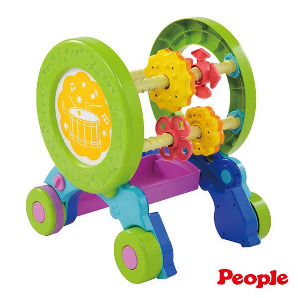 【買就送SD鋼彈三國傳水杯200ml 】唯可 People 體能運動學步車 1999元 【美馨兒】