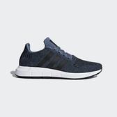 Adidas Originals Swift Run [CQ2120] 男鞋 運動 休閒 慢跑 襪套 深藍 黑 愛迪達