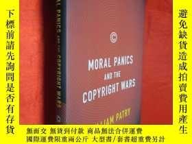 二手書博民逛書店Moral罕見Panics and the Copyright