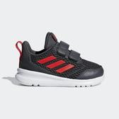 ADIDAS ALTARUN CF I [BD8001] 小童鞋 運動 休閒 跑步 透氣 網布 魔鬼氈 保護 黑紅