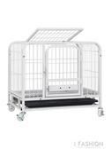 狗籠子泰迪小型犬中型大型犬帶廁所寵物室內比熊狗狗貓籠子兔子籠-ifashion YTL
