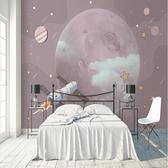 8D星空壁紙夜光夢幻銀河宇宙臥室客廳電視背景墻紙吊頂5D創意壁布 快意購物網