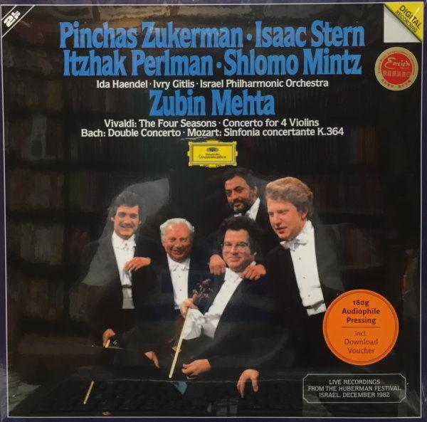 【停看聽音響唱片】【黑膠LP】ZUKERMAN.STERN.PERLMAN.MINTZ.MEHTA
