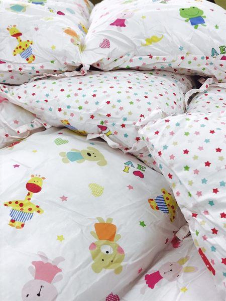 【純棉i】嬰兒床圍-E款((方枕型床圍))