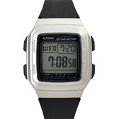 CASIO手錶 復刻方型電子膠錶NECD23