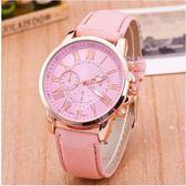 韓國 韓版 手錶 熱賣 極簡 休閒 三眼 大錶盤 手錶 女錶 男 女 錶 皮帶 情侶 對錶