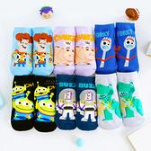 迪士尼玩具總動員兒童直版襪 襪子 童襪
