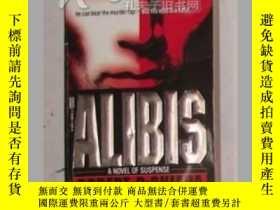 二手書博民逛書店《罕見Alibis 》[Mass Market Paperbac