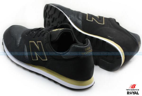 New Balance 373 新竹皇家 黑色 皮質 麂皮 輕量 慢跑鞋 女款 NO.I7237