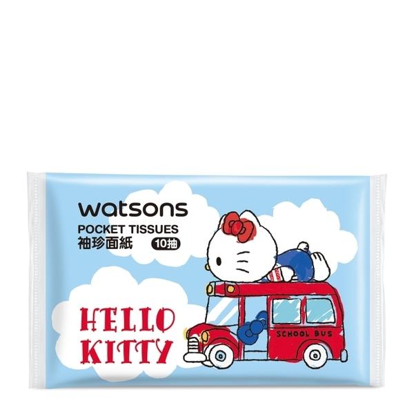 屈臣氏袖珍面紙10抽30入(Hello Kitty)