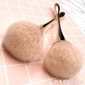 大號散粉刷單支裝 柔軟毛粉餅刷蜜粉腮紅刷定妝粉化妝刷子工具 創意家居