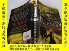 二手書博民逛書店Percy罕見Jackson and the Lightning Thief:西傑克遜與神火之盜Y212829
