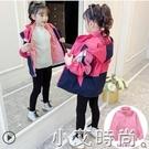 女童外套春裝2021新款韓版中大童加絨春秋沖鋒衣兒童可拆卸三合一 小艾新品