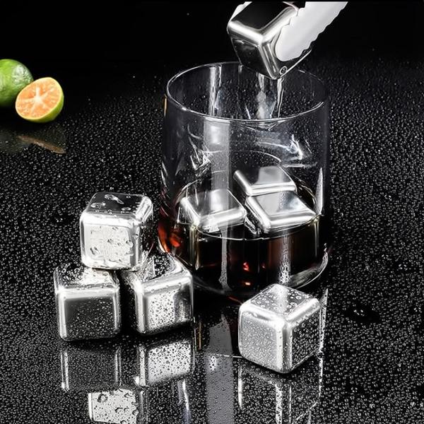 威士忌冰酒石啤酒雪碧冰鎮神器 304速凍不銹鋼冰
