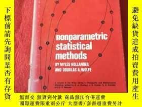 二手書博民逛書店Nonparametric罕見Statistical Metho