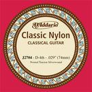 小叮噹的店 D'Addario J2704 (.029) 古典吉他弦 銀弦 EJ27N 第四弦 4D弦