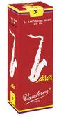 凱傑樂器 Vandoren Java Red Tenor Reeds  紅盒 次中音 竹片 2號