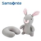 [佑昇]Samsonite新秀麗 Z34 (超方便 超舒適) 立體兔子變型頸枕 / U型枕 / 飛機枕 /午睡枕
