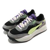 Puma 休閒鞋 Style Rider Neo Archive 黑 黃 男鞋 女鞋 復古慢跑鞋 後底 運動鞋 老爹鞋 【ACS】 37338101
