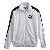 Puma 流行系列復古T7立領外套   57621706 男 健身 透氣 運動 休閒 新款 流行