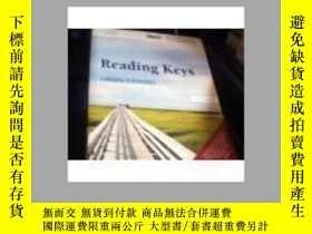 二手書博民逛書店READING罕見KEYS THIRD EDITION18910