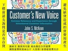 二手書博民逛書店Customer s罕見New Voice: Extreme Relevancy and Experience t