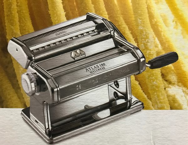 Marcato 製麵機 壓麵機 Atlas180 (18cm)銀色 義大利製 分離式