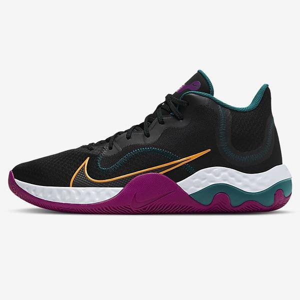Nike Renew Elevate 男鞋 籃球 柔軟 穩定 包覆 緩震 黑【運動世界】CK2669-005