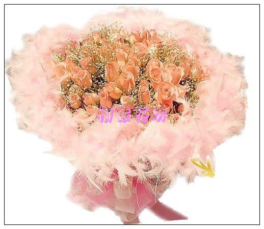 情意花坊超級商城人氣永和花店~99朵感動粉玫瑰花束免運費只要2999元~歡迎提前預定情人節~