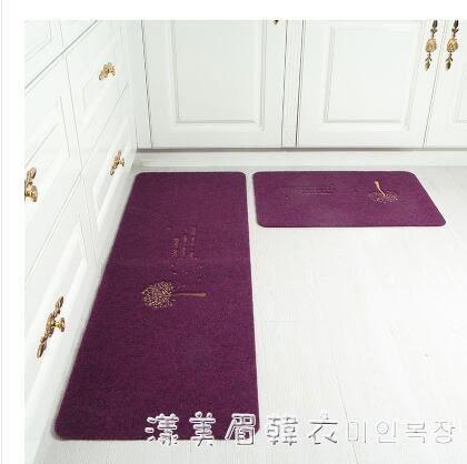 廚房地墊地毯長條防油腳墊廚房地毯防滑吸水墊臥室地毯 NMS漾美眉韓衣