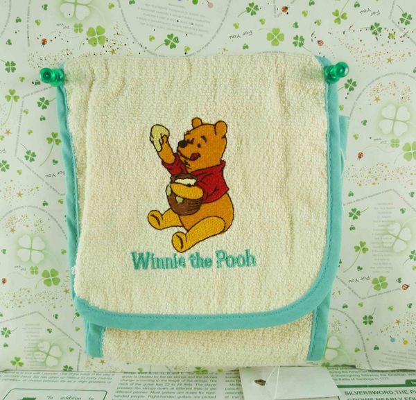 【震撼精品百貨】Winnie the Pooh 小熊維尼~捲筒面紙套-藍邊