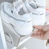 ✭慢思行✭【G53】簡約雙層鞋架 分層衣櫃 鞋托架 拖鞋 整理架 收納架 居家立體省空間 防滑