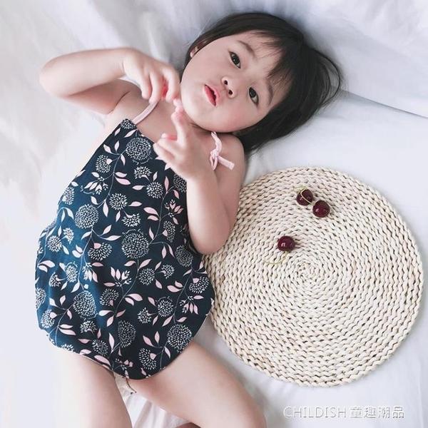 嬰兒肚兜  寶寶肚兜嬰兒護肚臍圍兒童純棉夏季秋款四季通用新生兒背心式肚兜 童趣潮品
